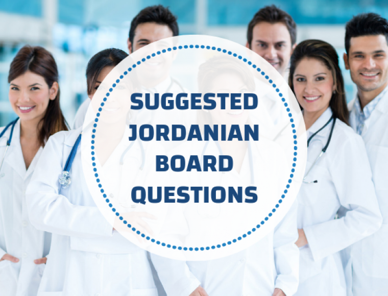 Suggested Jordanian Board Questions